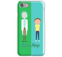 Simplistic Rick and Morty iPhone Case/Skin