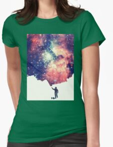 Painting the universe Womens Fitted T-Shirt