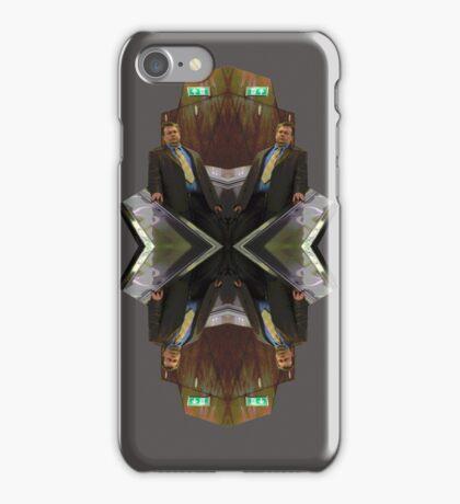 booring suit man iPhone Case/Skin