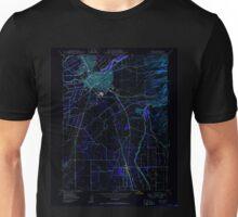 USGS TOPO Map California CA Chico 289170 1950 24000 geo Inverted Unisex T-Shirt