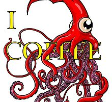 I Giant Squid Attack Coffee by joehavasy