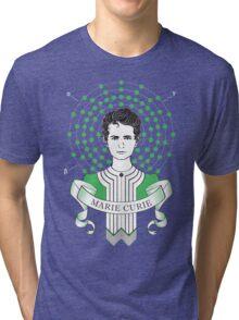 Marie Curie Tri-blend T-Shirt