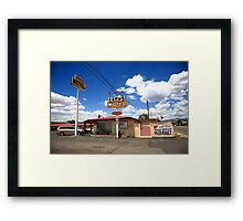 Route 66 - Sands Motel Framed Print