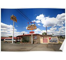Route 66 - Sands Motel Poster