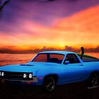 1970 Ranchero Dominican Beach Sunrise by ChasSinklier