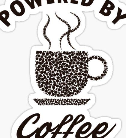 Powered By Coffee Sticker
