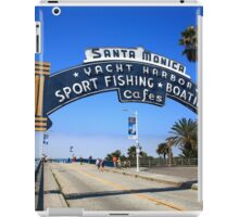 Route 66 - Santa Monica Pier iPad Case/Skin