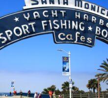 Route 66 - Santa Monica Pier Sticker