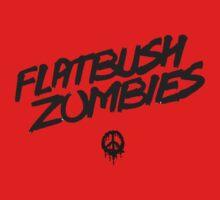 Flatbush Zombies - Dead Peace One Piece - Short Sleeve