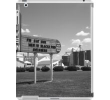 Route 66 Drive-In Theater iPad Case/Skin