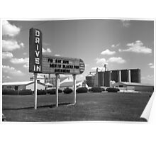 Route 66 Drive-In Theater Poster