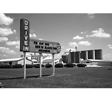 Route 66 Drive-In Theater Photographic Print