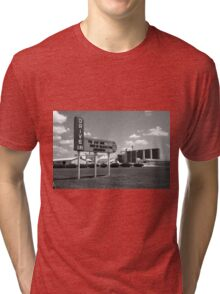 Route 66 Drive-In Theater Tri-blend T-Shirt