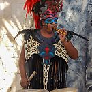 Mayan Performance @ Costa Maya  by John  Kapusta