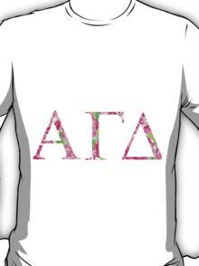 Alpha Gamma Delta Lilly Pulitzer T-Shirt