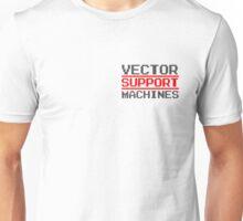 Support vector machines logo (8-bit) Unisex T-Shirt