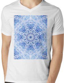 Mehndi Ethnic Style G413 Mens V-Neck T-Shirt