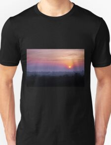 A pink sunrise in India T-Shirt