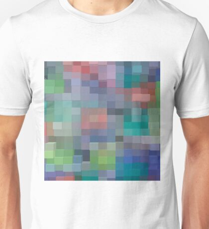 Abstract pixel pattern Unisex T-Shirt