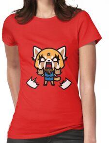 Aggretsuko (V1) Womens Fitted T-Shirt