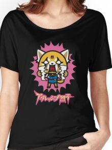 Aggretsuko (V2) Women's Relaxed Fit T-Shirt