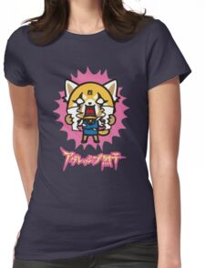 Aggretsuko (V2) Womens Fitted T-Shirt
