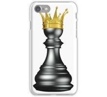 King Chess Piece Smart Game iPhone Case/Skin