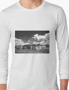 Route 66 - Sands Motel Long Sleeve T-Shirt