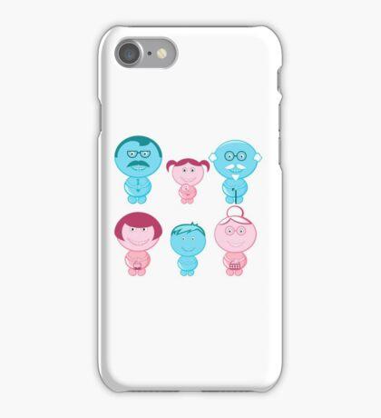 Happy Family iPhone Case/Skin