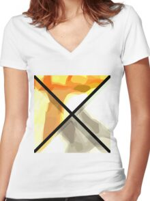 Graphic C3 Women's Fitted V-Neck T-Shirt