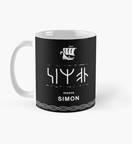 Simon viking mug Mug