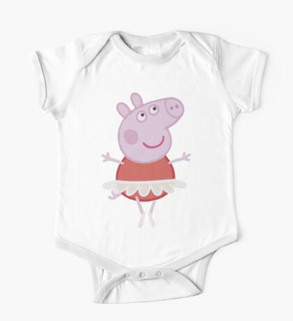 Peppa Pig - Ballerina One Piece - Short Sleeve