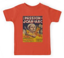 Vintage poster - Joan of Arc Kids Tee