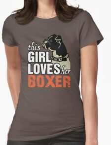 This Girl Loves Her Boxer T-Shirt
