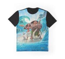 Moana and Maui Graphic T-Shirt