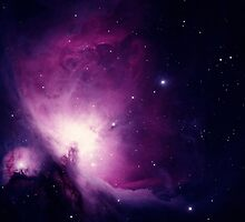 Orion Nebula Space Image From Telescope by hipsterapparel