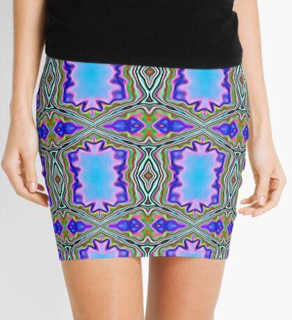 royal pattern Mini Skirt