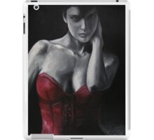 Red Corset #4 iPad Case/Skin