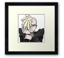 Video Game Headshot | Gladion Framed Print