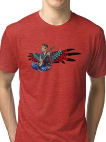 Sufjan (with wings) Tri-blend T-Shirt