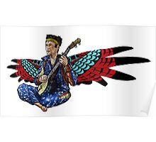 Sufjan (with wings) Poster