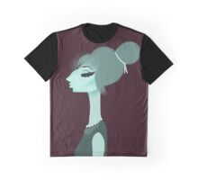 Green Lady Graphic T-Shirt