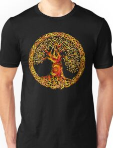 TREE OF LIFE - orange crush Unisex T-Shirt