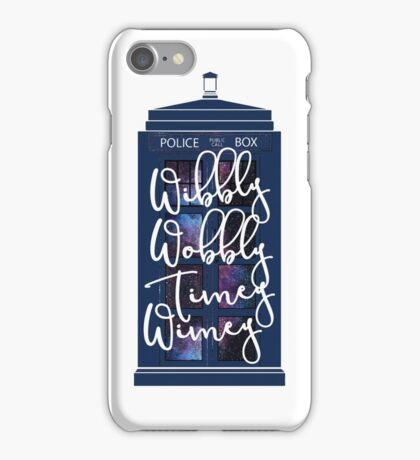 Doctor Who - Wibbly Wobbly Timey Wimey iPhone Case/Skin