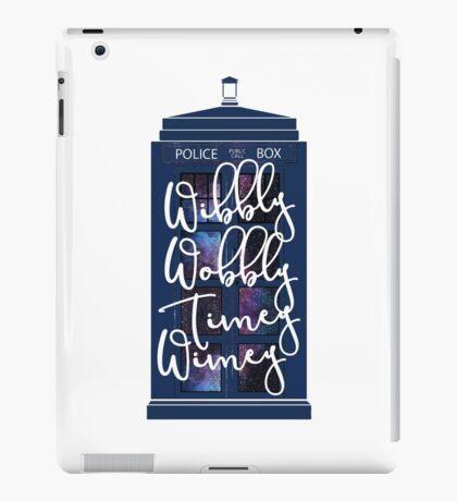 Doctor Who - Wibbly Wobbly Timey Wimey iPad Case/Skin