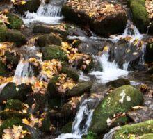{autumn water I} Sticker