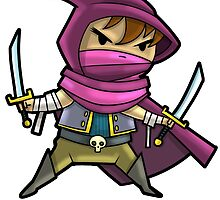 Level 20 Assassin by WarpZoneGraphic