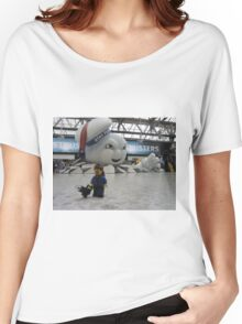 Attack of Stay Puft Women's Relaxed Fit T-Shirt