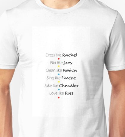Friends Graphic Unisex T-Shirt