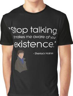 Dark - stop talking Graphic T-Shirt